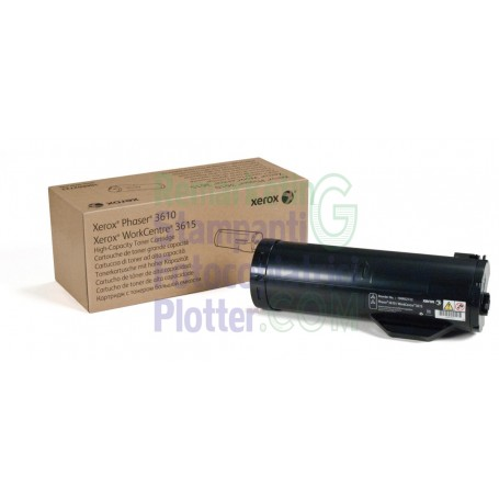 106R02722 - Original toner cartridge 106R02722 Xerox WorkCentre 3615 Phaser 3610