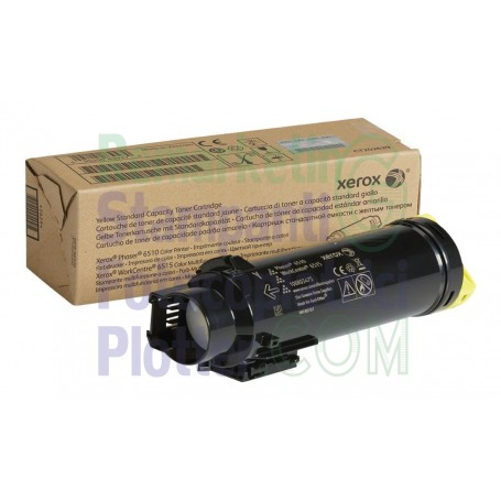 106R03475 - Toner Giallo Originale 106R03475 Xerox WorkCentre 6515 - Phaser 6510