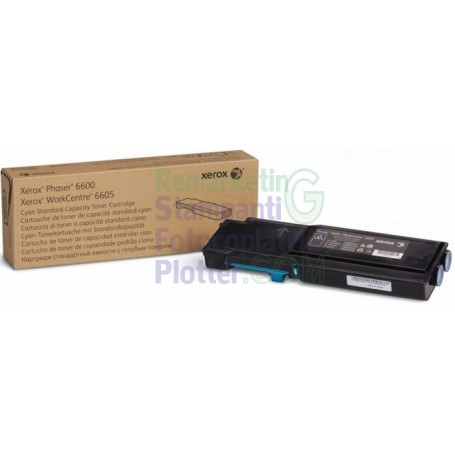 106R02237 - Original Cyan Toner 106R02237 Xerox WorkCentre 6605 - Phaser 6600