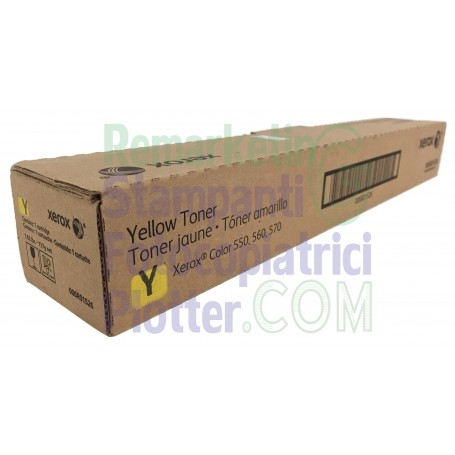 006R01526 - Original Yellow Toner 006R01526 Xerox Colour 550-560-570