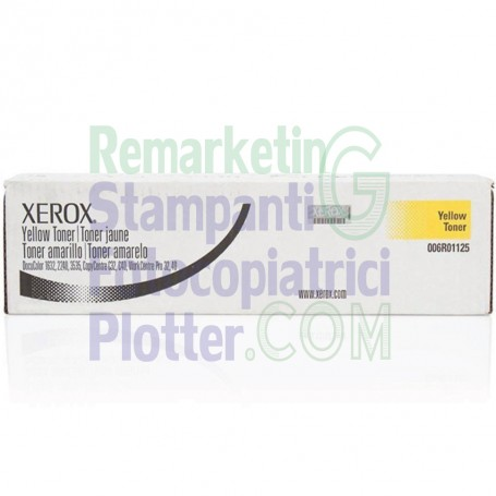 006R01125 - Original Yellow Toner 006R01125 Xerox WorkCentre Pro 32-40