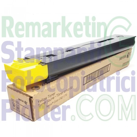 006R01658 - Original Yellow Toner 006R01658 Xerox Colour C60-C70
