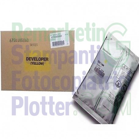 675K85060 - Developer Giallo Originale 675K85060 Xerox Workcentre 78XX-75XX