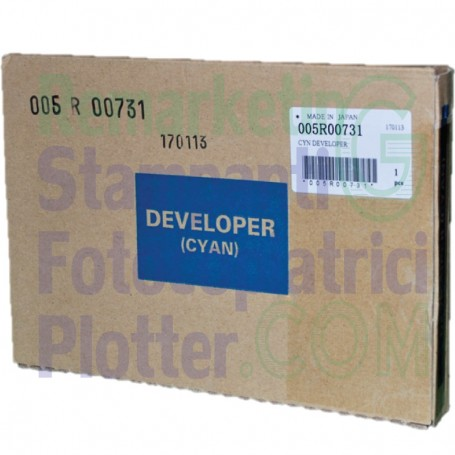 005R00731 - Developer Original Cyan 675K17960 Xerox Color 5XX-DC2XX