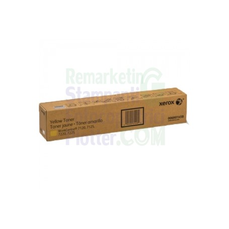 006R01458 - TONER GIALLO ORIGINALE XEROX WORKCENTRE 7120 - 7125 - 7220 - 7225