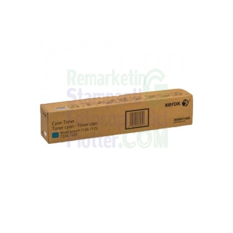 006R01460 - TONER CIANO ORIGINALE XEROX WORKCENTRE 7120 - 7125 - 7220 - 7225