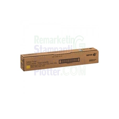 006R01514 - TONER GIALLO ORIGINALE XEROX WORKCENTRE 75XX - 78XX